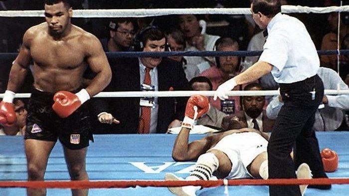 Mike Tyson Hanya Butuh 91 Detik untuk Tumbangkan Michael Spinks