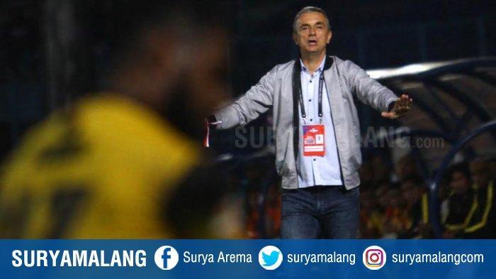 Bocoran Pertandingan Bali United Vs Arema FC, Pelatih Milomir Seslija Pilih Strategi Bertahan