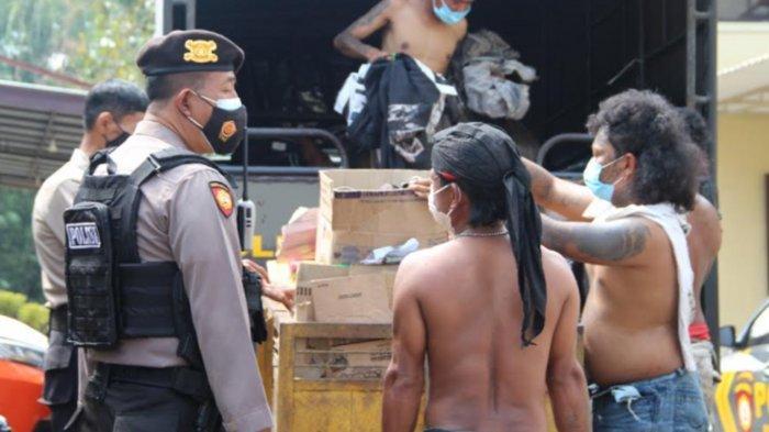 Polisi Temukan Ini saat Razia Anak Jalanan di Kepanjen Malang