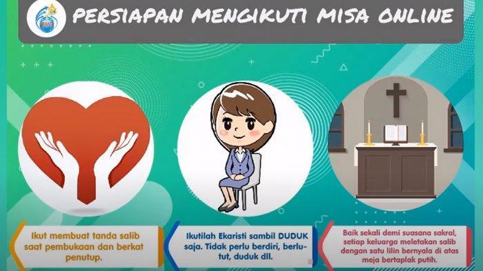 Misa Online Minggu 10 Mei 2020 Gereja Keuskupan Bandung & Keuskupan Agung Semarang (KAS) via Youtube