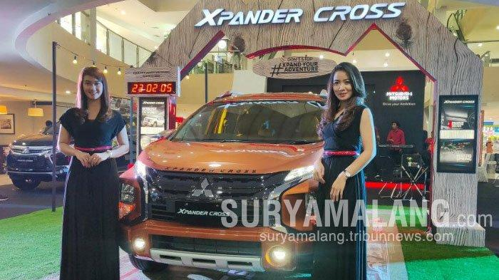 Mitsubishi Xpander Cross dilaunching di Kota Malang, Kamis (28/11/2019)