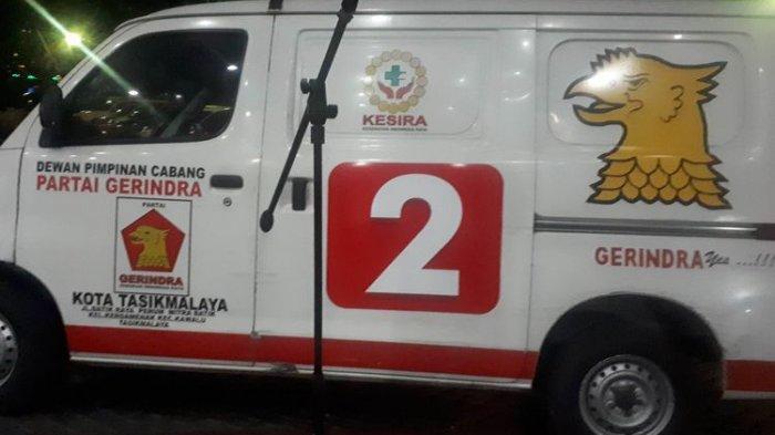 Membongkar Misteri Ambulans Partai Gerindra Berisi Batu saat Kerusuhan 22 Mei, Ini Pengakuan Sopir