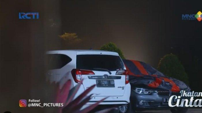 Mobil BMW abu-abu metalic milik Ricky adegan sinetron Ikatan Cinta Kamis 5 Agustus 2021