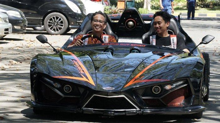 Mobil Listrik Lowo Ireng Reborn dari ITS Surabaya, Sanggup Menempuh Jarak 100-160 Km Sekali Charge