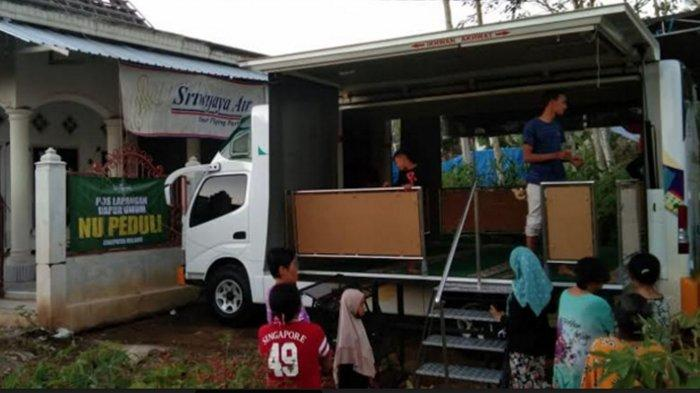 Mobil Musala Portable Bagi warga Krajan Dampit Malang, Kini Bisa Laksanakan Salat Tarawih Berjamaah