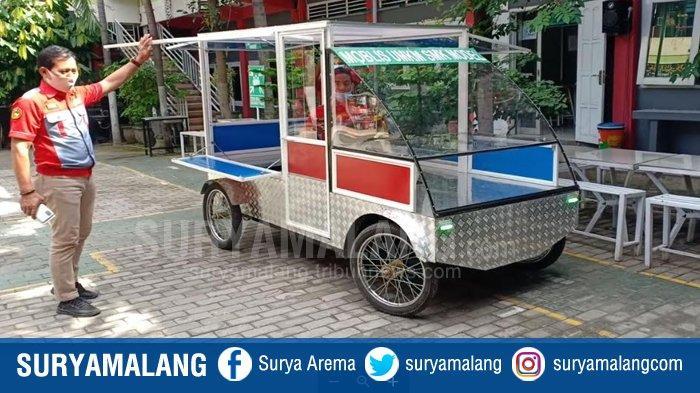 Siswa dan Guru SMK PGRI 1 Mejayan Madiun Ciptakan Mobil Listrik UMKM, Dijual dengan Harga 20 Juta
