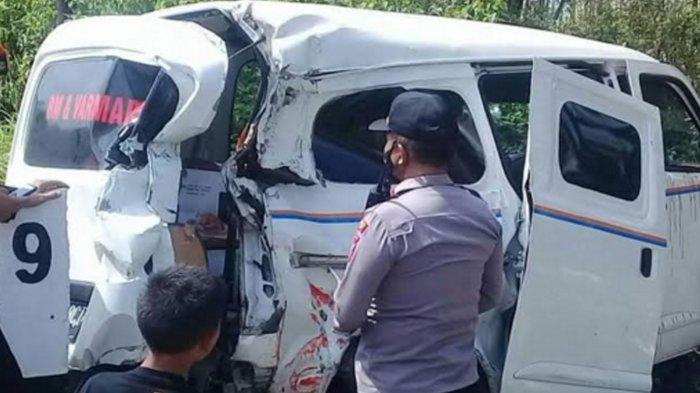 Kecelakaan KA Probowangi Vs Grand Max di Jember, Sopir dan Kernet Mobil Selamat