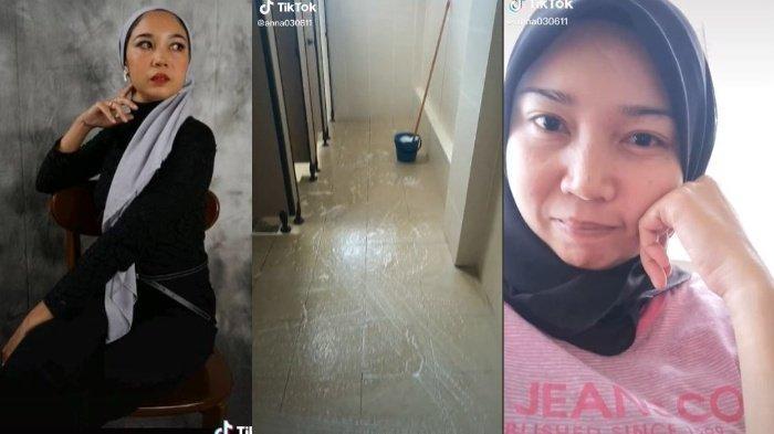 Viral Model Cantik Banting Setir Jadi Cleaning Service, Demi Penuhi Kebutuhan, Nana: Bukan Konten