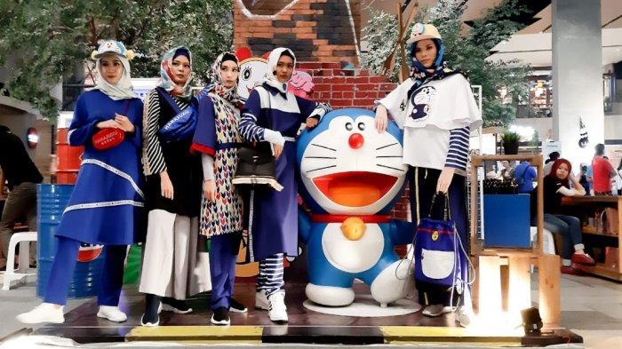 Pakuwon Mall Pamerkan Koleksi Fashion Khas Doraemon dari Para Desainer Indonesia