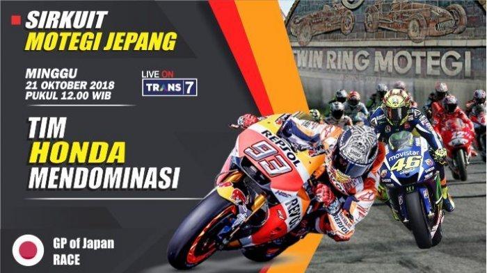 Jadwal & Jam Tayang MotoGP 2018 Jepang - Berikut Rekor yang Pernah Tercatat di Sirkuit Motegi