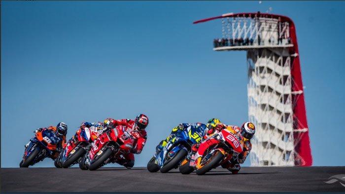 Jadwal Siaran Langsung MotoGP Americas 2019, Valentino Rossi Tempel Marc Marquez di FP 2, FP 3 Batal
