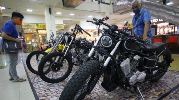 40 Motor Custom, Klasik, dan Vintage Dipamerkan di Matos