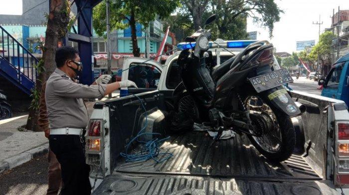 Pengendara Motor Suzuki Smash Tabrak Nenek Hingga Tewas di Jalan Basuki Rahmat Malang