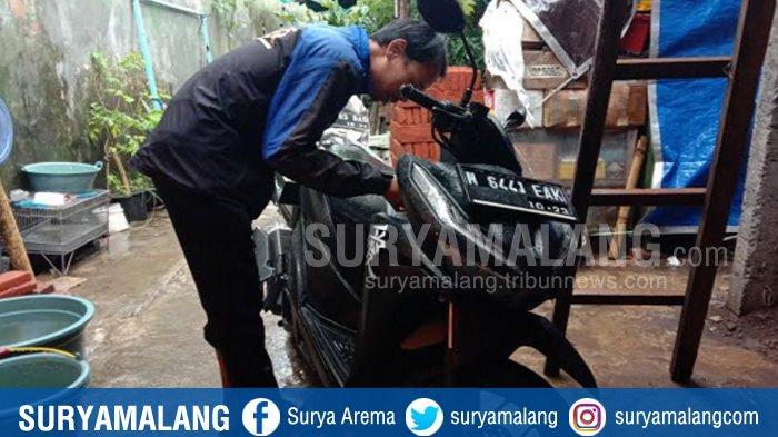 Maling Tinggalkan Motor Curian di Kampus Swasta di Kota Malang