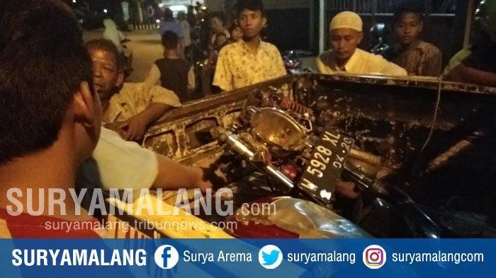 Terobos Palang Pintu, Bayu Tewas Tertabrak KA di Surabaya, Tubuhnya Terseret 100 Meter