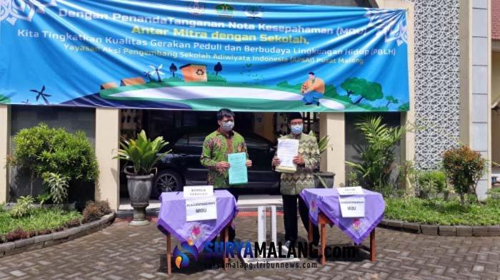 88 Sekolah di Kota Malang Jalin MoU dengan APSAI Terkait Sekolah Adiwiyata, Ini Tujuannya