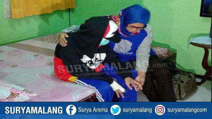 Jari Masih Berbalut Perban, Siswa Korban Perundungan Kota Malang Pulang ke Rumah Kerabat