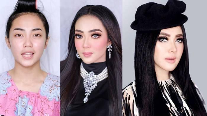 MUA Bandung Viral, Sulap Wajah Orang Mirip Syahrini, Mulan Jameela dan Preity Zinta, Lihat Hasilnya