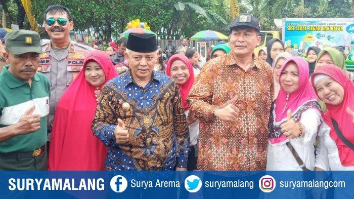 Sehari Setelah Dapat Rekom PDIP untuk Pilbup Malang 2020, Sanusi-Didik Langsung Pamer Kemesraan