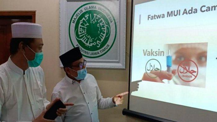ALASAN  MUI Jatim Keluarkan Fatwa Vaksin AstraZeneca Suci dan Halal, Beda dari Fatwa MUI Pusat