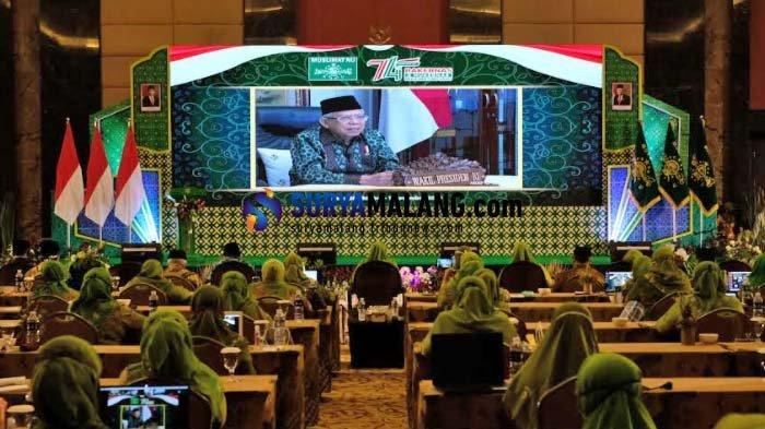 Wapres RI Dorong Muslimat NU Manfaatkan Fasilitas Negara untuk Dorong UMKM