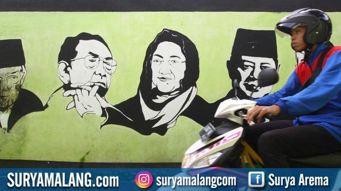GALERI FOTO - Gairah Berdemokrasi di Kota Malang, Mulai Tahanan, Mahasiswa, Difabel sampai Aremania