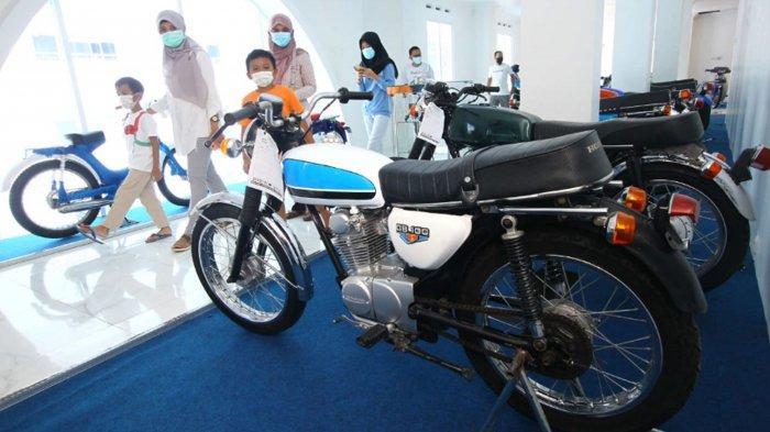 Museum Motor Klasik SMK NMC Malang Miliki 200 Koleksi, Ada Motor Seperti Dipakai Dilan dan Rhoma