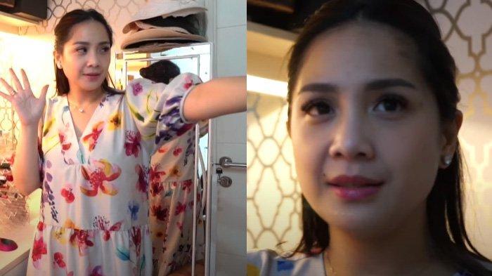 Aksi Nagita Slavina Bagi-bagi Makeup Bikin Melongo Karyawan RANS, Isi Laci & Tanggal Expired Disorot