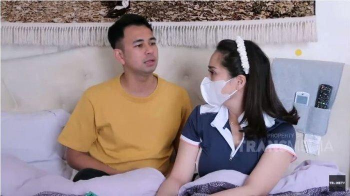 Nagita Slavina dan Raffi Ahmad ngobrol perjanjian jika punya anak di program Janji Suci Trans TV
