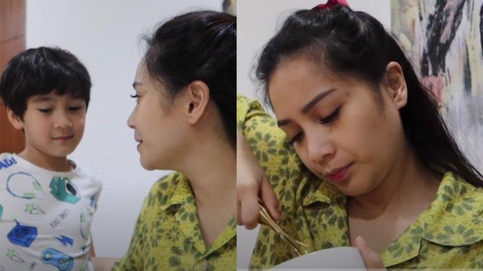 Kesabaran Nagita Slavina Diuji Didik Rafathar Sendirian, Gak Peduli Punya 20 ART dan Hamil Besar
