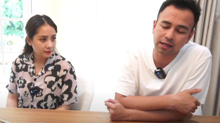 Nagita Slavina (kiri) punya permintaan ngidam yang bikin kantong Raffi Ahmad (kanan) jebol