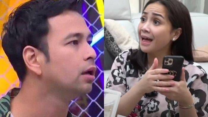 Nagita Slavina memergoki Raffi Ahmad bohong soal wanita lain