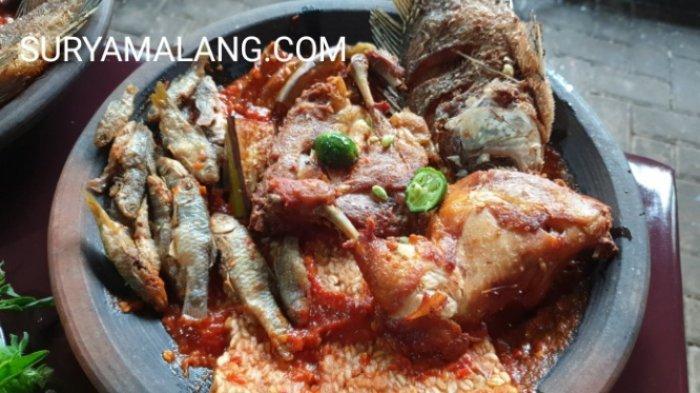Kuliner Nasi Purakan Sambel Ulek di Lembah Alas Glotak Trawas, Kabupaten Mojokerto
