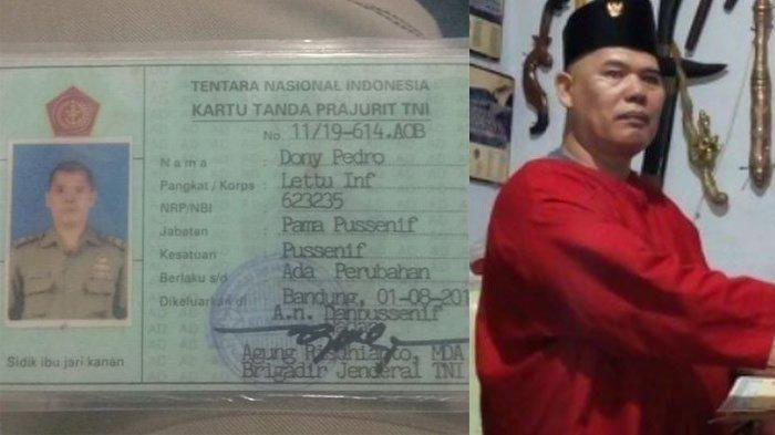 Nasib Dony Pedro King of the King Setelah Mengaku Anggota TNI, Hadapi Pengadilan Militer