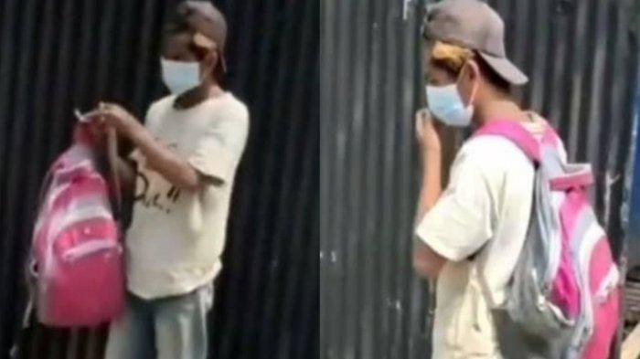 Nasib Mujur Kuli Bangunan yang Viral Dipecat Gara-gara Tak Pakai Masker, Kini Ditawari Buka Usaha