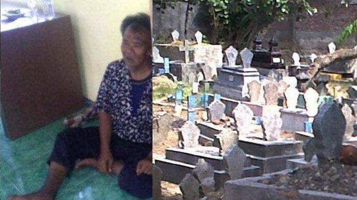 Nasib Miris Mantan Sopir Bus Dibuang Istri Muda, Hidup Luntang-lantung Hingga Tidur di Kuburan