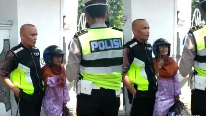 Nenek-nenek Heboh Ditilang Polisi, Nangis Histeris Motor Disita, Ulah Berikutnya Bikin Geleng Kepala