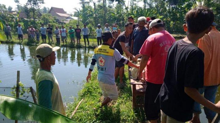 Nenek Renta Sebatang Kara di Tulungagung Tewas Tercebur Masuk ke Kolam Ikan Gurami