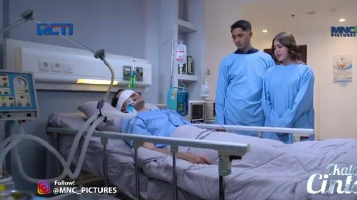 Nino sekarat, dijenguk Andin dan Al di rumah sakit adegan sinetron Ikatan Cinta Rabu 25 Agustus 2021