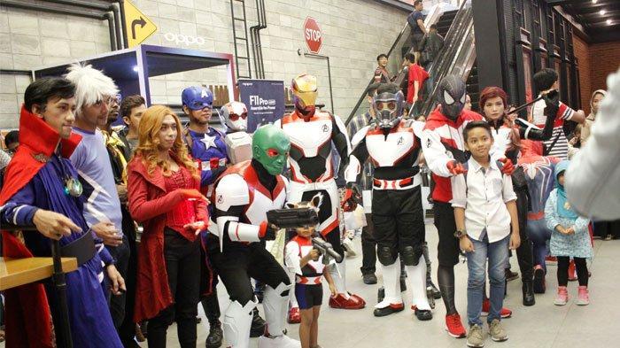 Komunitas Arek Nonton Gelar Nobar Endgame Bareng Cosplayer Avengers, Simak Keseruannya