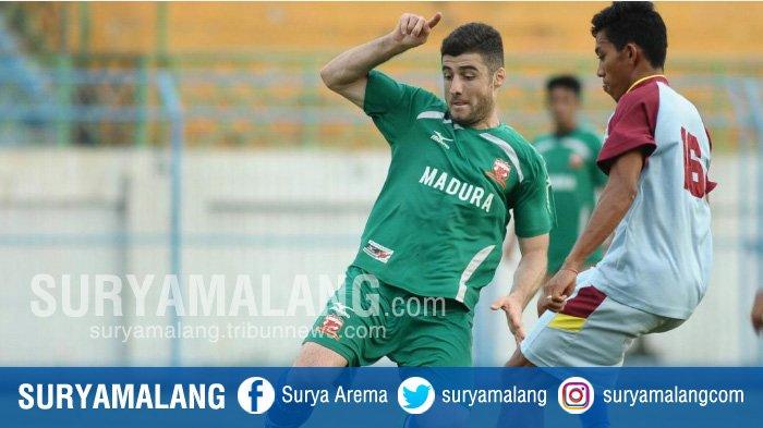 Kapten Timnas Tajikistan, Nuriddin Davronov, Pakai Nomor 22 di Madura United, Ini Alasannya . . .
