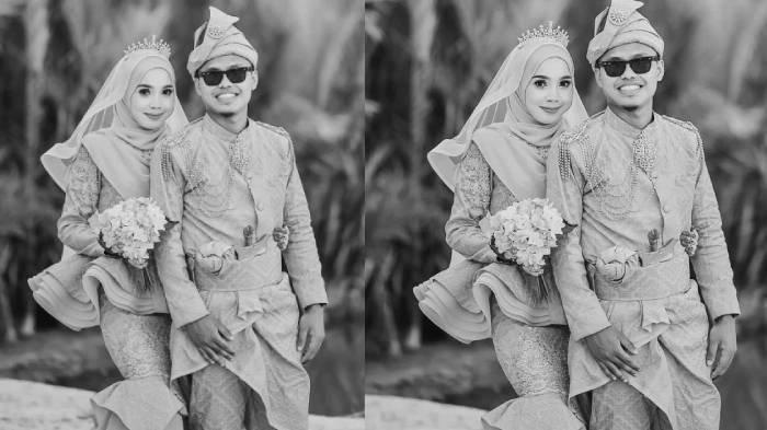Nurul Surianie Zahazani dan suaminya Muhammad Shafiq Shahrizan Mazlan