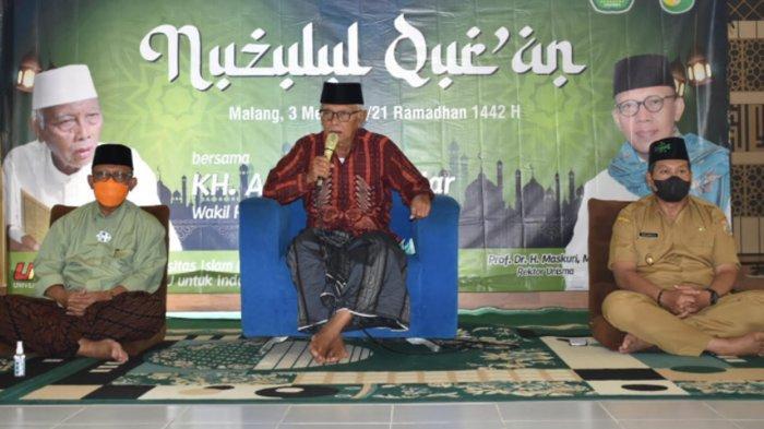 Peringatan Nuzulul Quran Unisma Bersama KH Anwar Iskandar