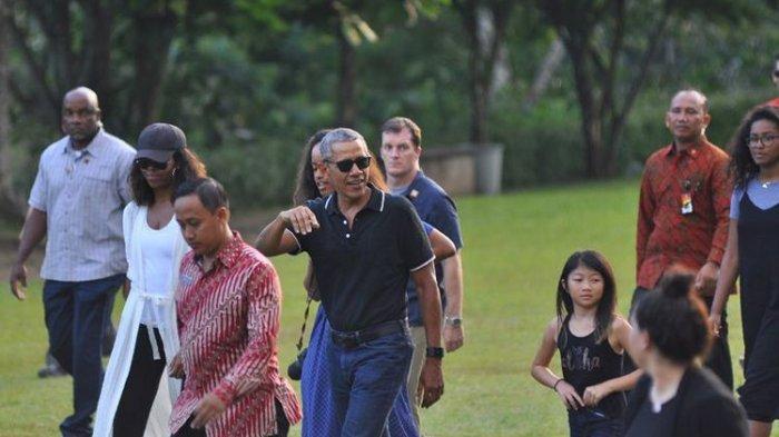 Saat Berlibur ke Bantul Yogyakarta Ternyata Obama Suka Makan Mi, Sampai Habis Segini