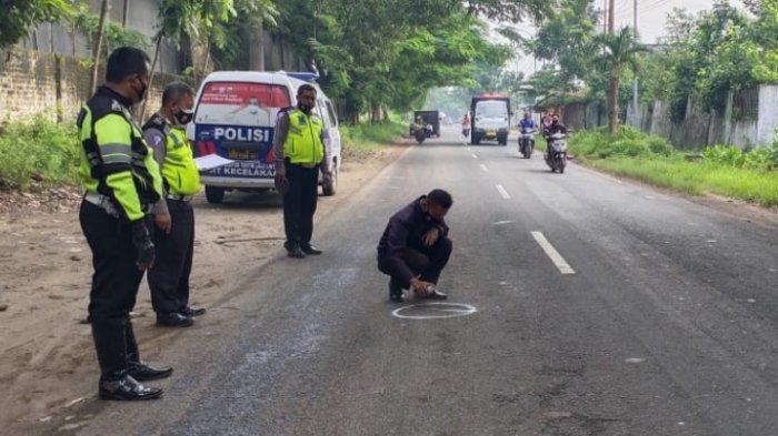 Kecelakaan Motor Vs Mobil di Jalan Raya Tuban-Bojonegoro, 1 Orang Tewas dan 4 Orang Terluka