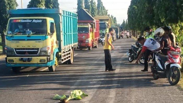 Setelah Tabrak Pejalan Kaki, Pengendara Motor Tewas Dihantam Truk di Tuban