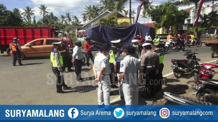 Sopir Truk Fuso Menjadi Tersangka Kecelakaan Truk Maut 5 Orang Tewas di Sempolan Jember