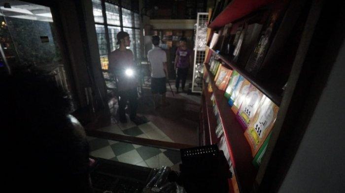 Cara Maling Kabur dari Toko yang Terkunci di Surabaya, Tinggalkan Jejak Kaki di Tembok