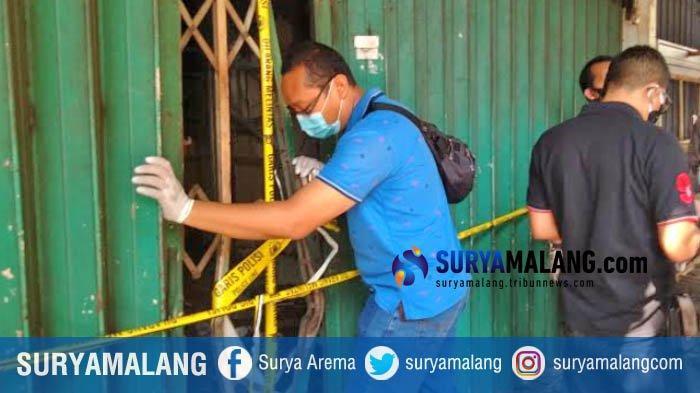 Polisi Gelar Olah TKP Peristiwa Kebakaran Ruko Jalan Kranggan Surabaya