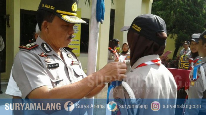 135 Anggota Pramuka Dilibatkan Di Operasi Lilin Semeru 2017 di Kota Malang, Ini Tugasnya